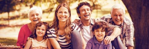 La famille, le centre autour duquel tout gravite et tout brille !